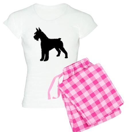 Giant Schnauzer Dog Women's Light Pajamas