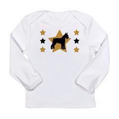 Stars & Schnauzer Long Sleeve Infant T-Shirt