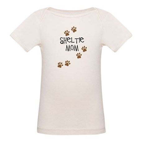 Sheltie Mom Organic Baby T-Shirt