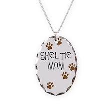 Sheltie Mom Necklace