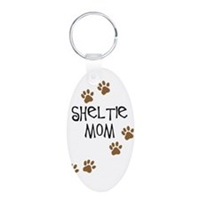 Sheltie Mom Keychains