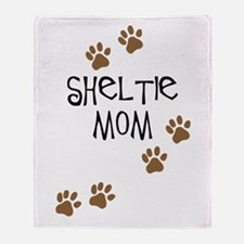 Sheltie Mom Throw Blanket