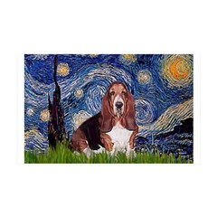 Starry / Basset Hound Wall Decal