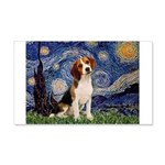 Starry Night / Beagle 20x12 Wall Decal