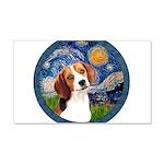 Starry Night Beagle #1 20x12 Wall Decal