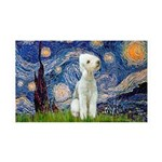 Starry / Bedlington 35x21 Wall Decal