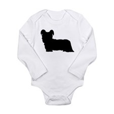 Skye Terrier Long Sleeve Infant Bodysuit