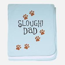 Sloughi Dad baby blanket