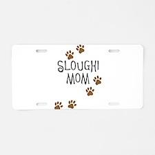 Sloughi Mom Aluminum License Plate