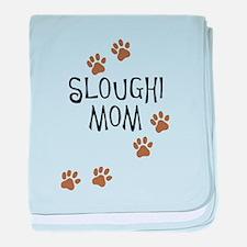 Sloughi Mom baby blanket