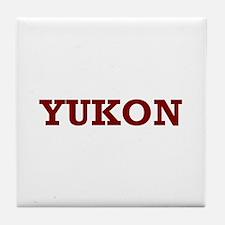 Yukon Tile Coaster