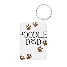 Poodle Dad Keychains