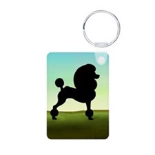 Grassy Field Standard Pood Keychains