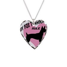 Toy Fox Terriers Rule Necklace