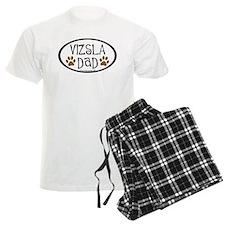 Vizsla Dad Oval pajamas