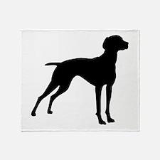 Vizsla Dog Throw Blanket
