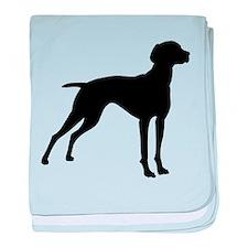 Vizsla Dog baby blanket