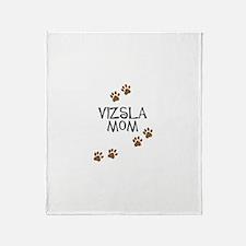 vizsla mom Throw Blanket