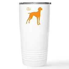 Vizsla Silhouette Thermos Mug