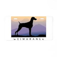 Unique Dog Aluminum License Plate
