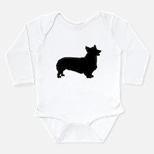 Pembroke Welsh Corgi Long Sleeve Infant Bodysuit