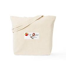 Funny Dog t logo Tote Bag