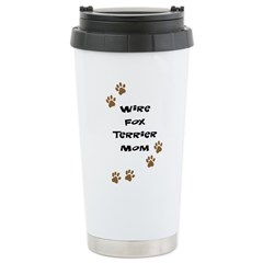 Wire Fox Terrier Mom Travel Mug