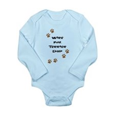 Wire Fox Terrier Dad Long Sleeve Infant Bodysuit