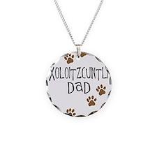 Xoloitzcuintli Dad Necklace