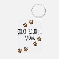 Xoloitzcuintli Mom Aluminum Photo Keychain