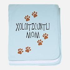 Xoloitzcuintli Mom baby blanket