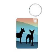 Blue Mountain Xolo Aluminum Photo Keychain