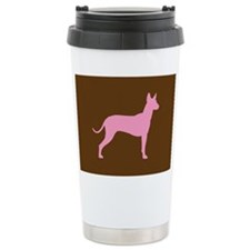 Xolo Dog Pink Profile Travel Mug