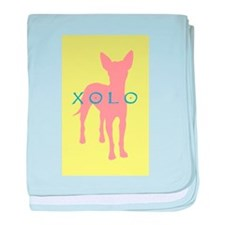 xolo dog baby blanket