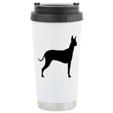 Xoloitzcuintli Profile Travel Mug