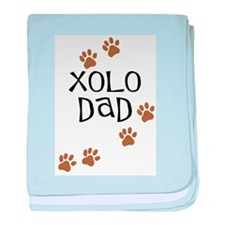 Xolo Dad baby blanket