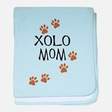 Xolo Mom baby blanket
