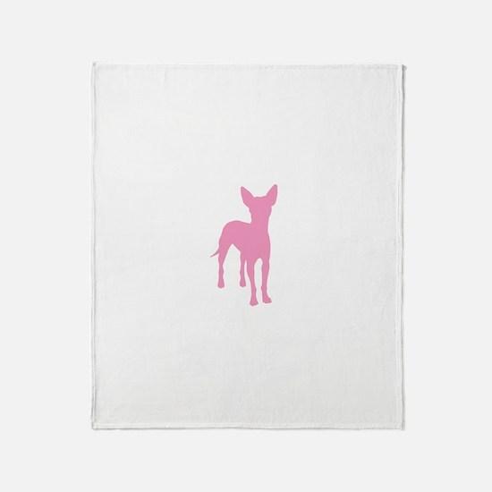 xoloitzcuintli Throw Blanket