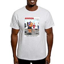 4 Plates - Ash Grey T-Shirt