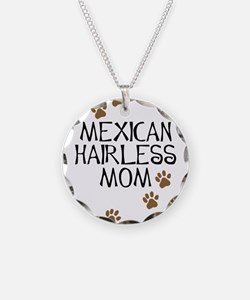 Mexican Hairless Mom Necklace