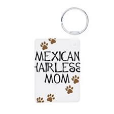 Mexican Hairless Mom Aluminum Photo Keychain