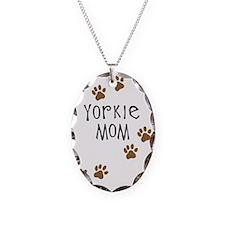 Yorkie Mom Necklace