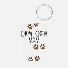 Chow Chow Mom Keychains