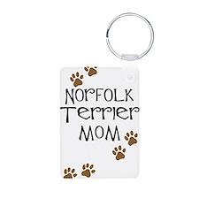 Norfolk Terrier Mom Keychains
