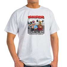 Diddley Squat - Ash Grey T-Shirt