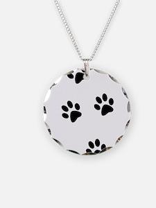 Walk-On-Me Pawprints Necklace