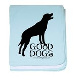 Good Dogs baby blanket