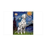 Starry / Dalmatian #1 35x21 Wall Decal