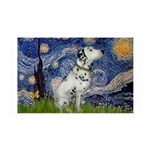Starry Night / Dalmation 35x21 Wall Decal