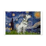 Starry Night / Dalmation 20x12 Wall Decal